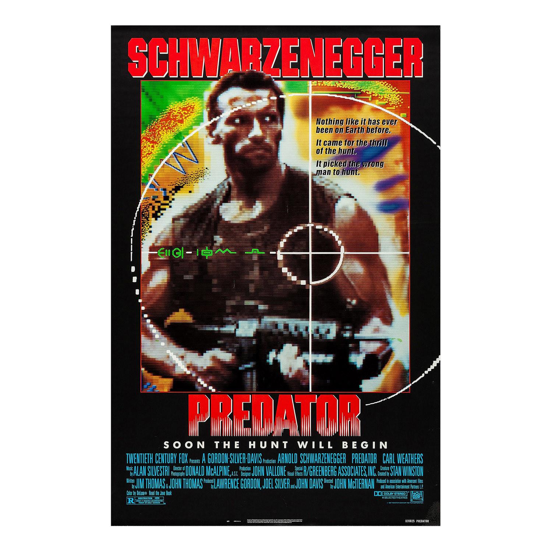 96134c535 Predator Original One Sheet Movie Poster // 1987 - Brigandi ...