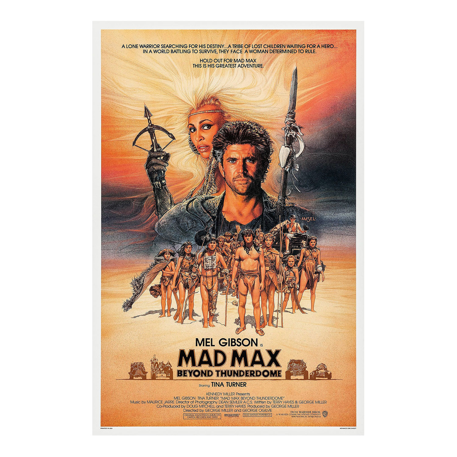 mad max original one sheet movie poster 1979 brigandi