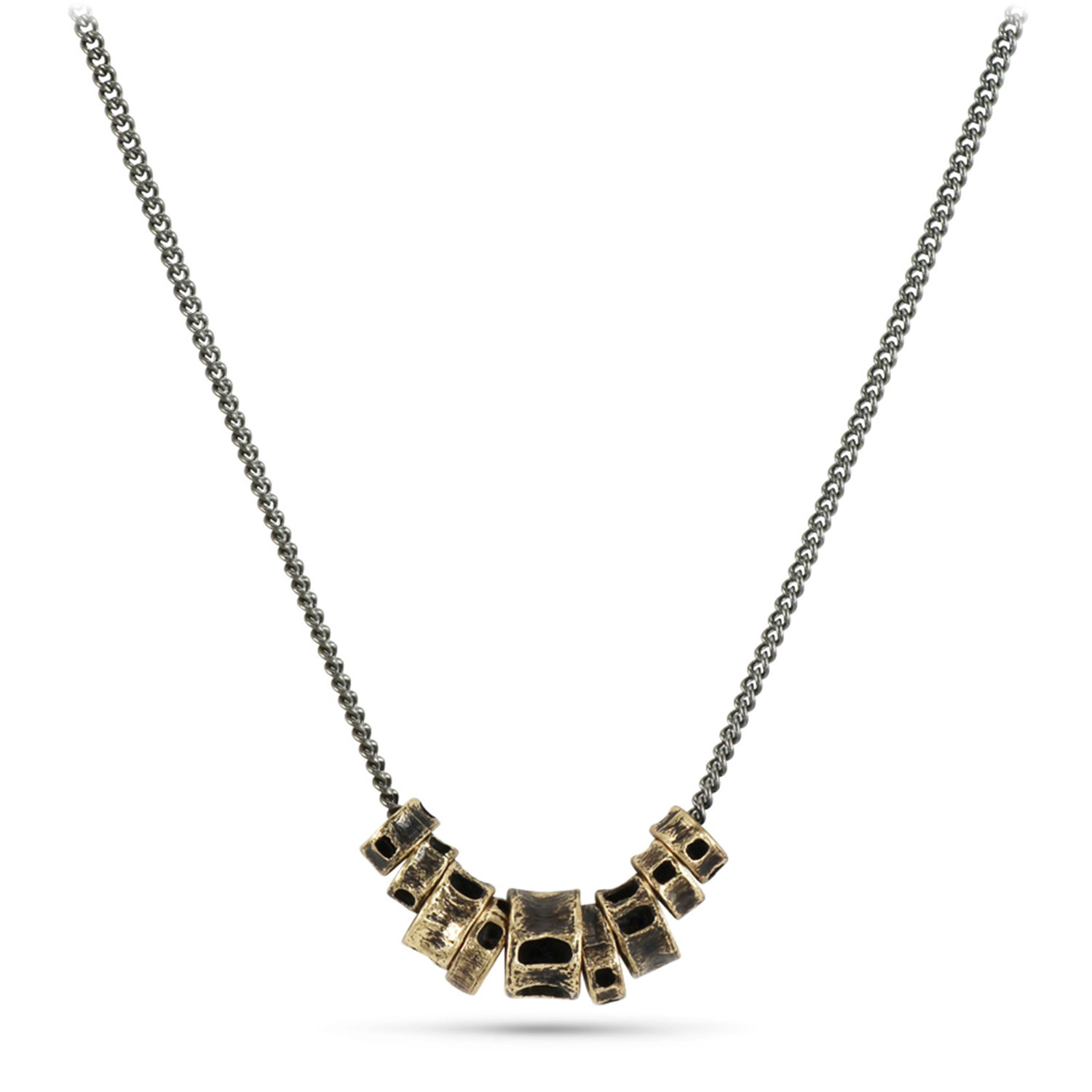 Shark Vertebra Necklace (Bronze // 20