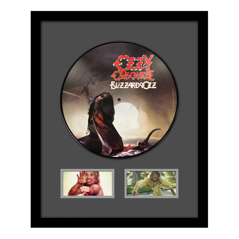 Ozzy Osbourne Blizzard Of Ozz Album + Frame