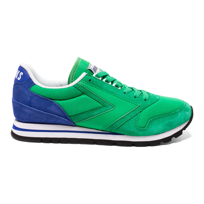 Chariot Sneaker // Kelly Green + Royal