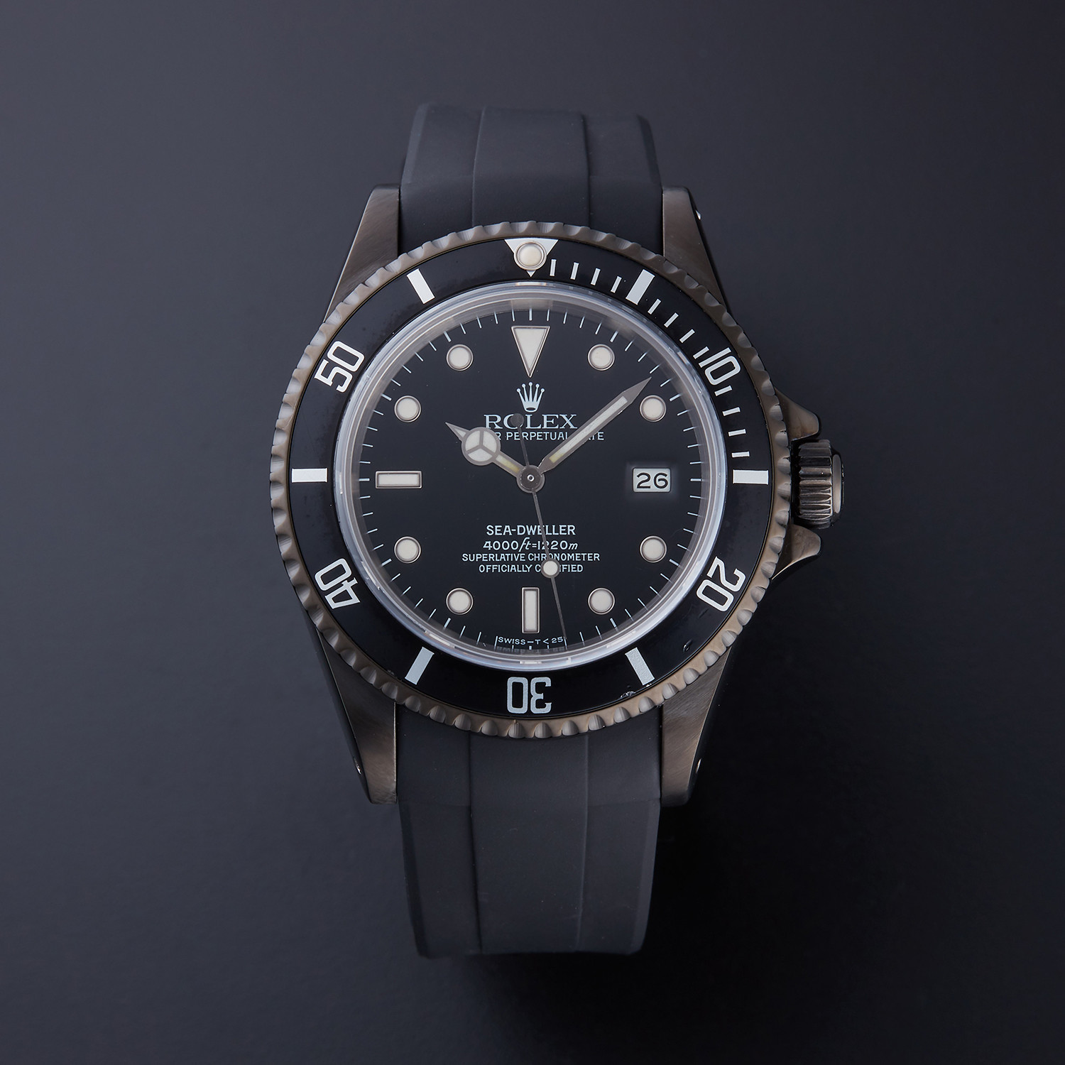 Rolex Seadweller Automatic 16600 Pre Owned With