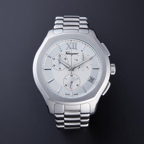 Ferragamo Lungarno Chronograph Quartz // FLF990015 // New