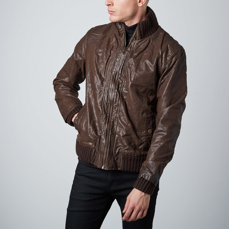 Be Free Modern Bomber // Brown