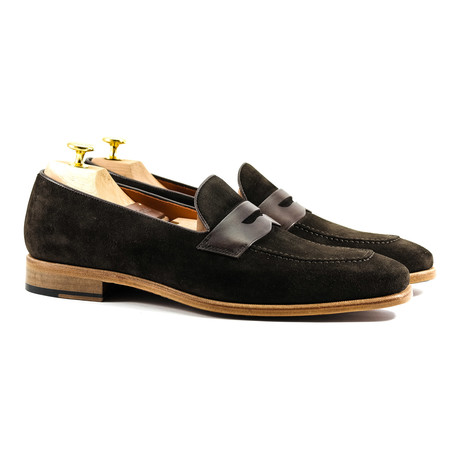 Suede Loafer // Brown (US: 12)