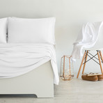 Luxury Copper Collection // White (Standard Pillowcases)