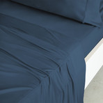 Luxury Copper Collection // Teal (California King Sheet Set)