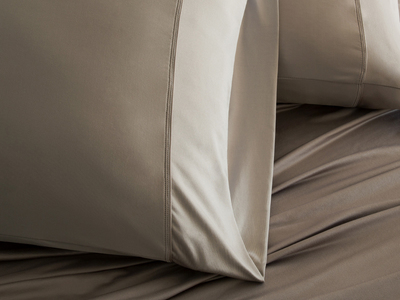 Photo of Sheex Performance Bedding Luxury Copper Collection // Taupe (King Pillowcases) by Touch Of Modern