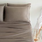 Luxury Copper Collection // Taupe (Standard Pillowcases)