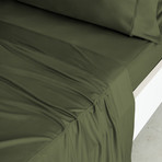 Luxury Copper Collection // Olive (Standard Pillowcases)