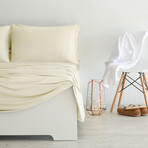 Luxury Copper Collection // Ivory (King Pillowcases)