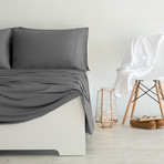 Luxury Copper Collection // Gray (King Pillowcases)