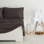 Luxury Copper Collection // Chocolate (Standard Pillowcases)