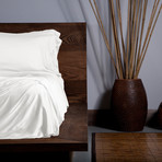 Ecosheex Bamboo Origin Collection // White (Queen Sheet Set)