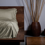 Ecosheex Bamboo Origin Collection // Taupe (Standard Pillowcases)