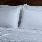 Ecosheex Bamboo Origin Collection // Light Blue (Standard Pillowcases)
