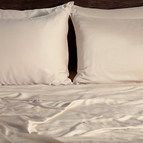 Ecosheex Bamboo Origin Collection // Ivory             (Standard Pillowcases)