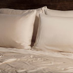 Ecosheex Bamboo Origin Collection // Ivory (Queen Sheet Set)