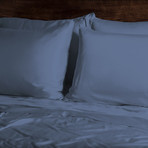 Ecosheex Bamboo Origin Collection // Blue Jean (Standard Pillowcases)