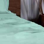 Ecosheex Bamboo Origin Collection // Aqua (King Sheet Set)