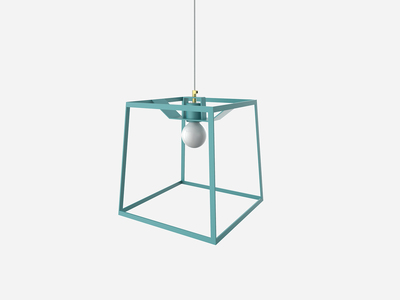 Photo of Iacoli & Mcallister Stellar Lighting Frame Light // Aqua (Small) by Touch Of Modern