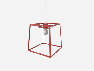 Photo of Iacoli & Mcallister Stellar Lighting Frame Light // Tomato (Small) by Touch Of Modern