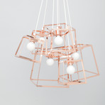 Frame Cluster // Plated Steel // 7 Pieces (Copper)