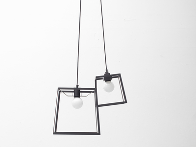 Photo of Iacoli & Mcallister Stellar Lighting Frame Cluster // Powder Coated // 2 Pieces (Black) by Touch Of Modern