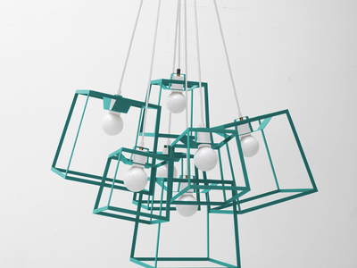 Iacoli & Mcallister Stellar Lighting Frame Cluster // Powder Coated // 7 Pieces (Aqua) by Touch Of Modern - Denver Outlet