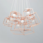 Frame Cluster // Plated Steel // 11 Pieces (Copper)