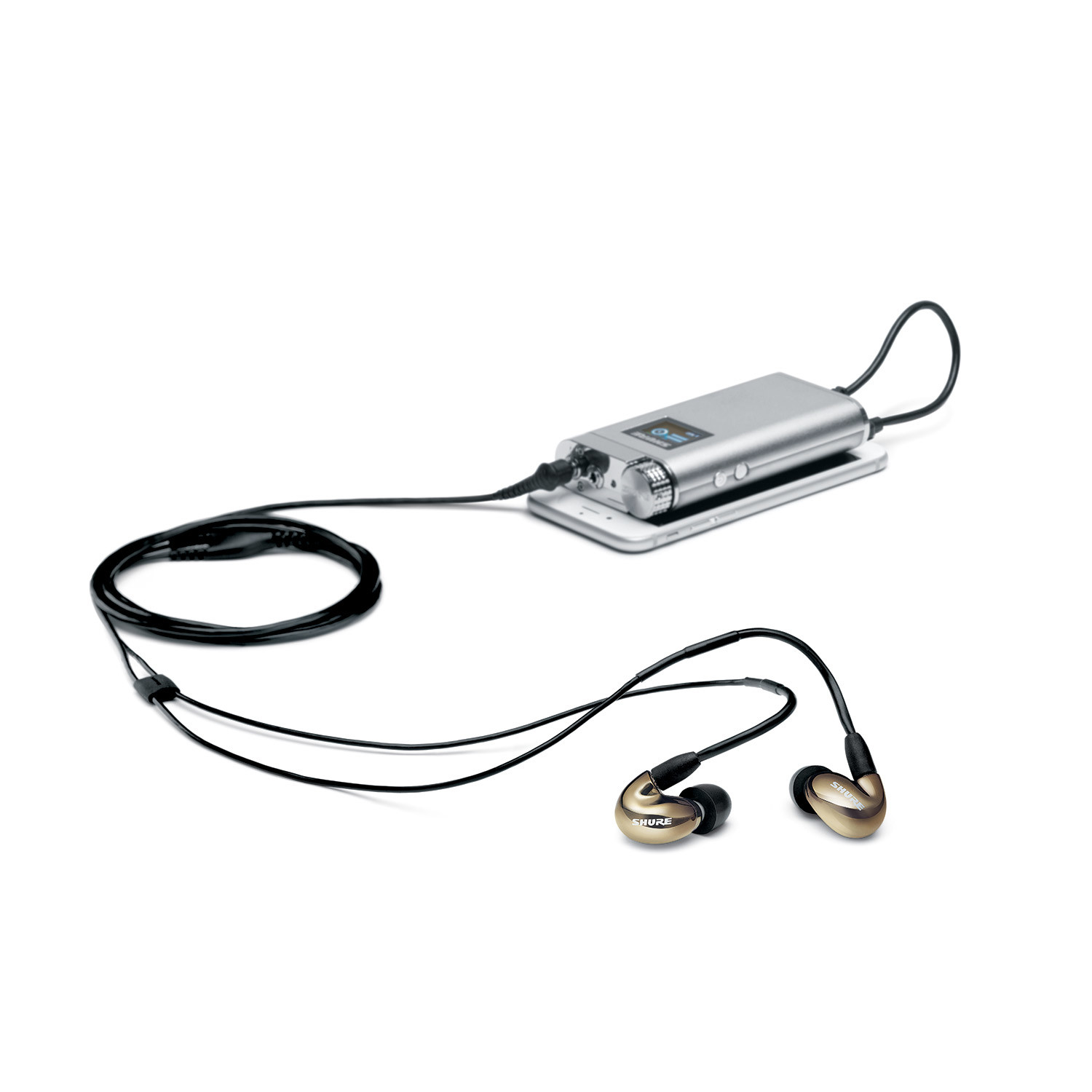 sha900 portable listening amplifier - shure