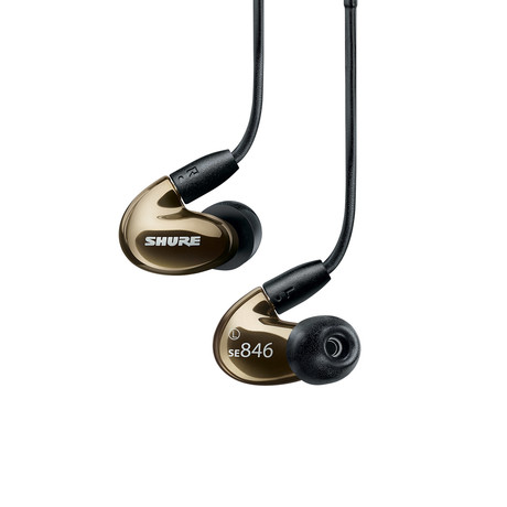 SE846 Sound Isolating Earphones (Bronze)
