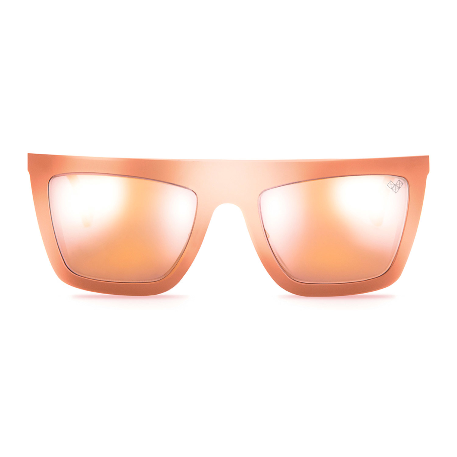 Siro Rose Gold Frame Rose Gold Mirror Lenses Vysen
