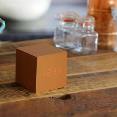 Cube Click Clock // Copper
