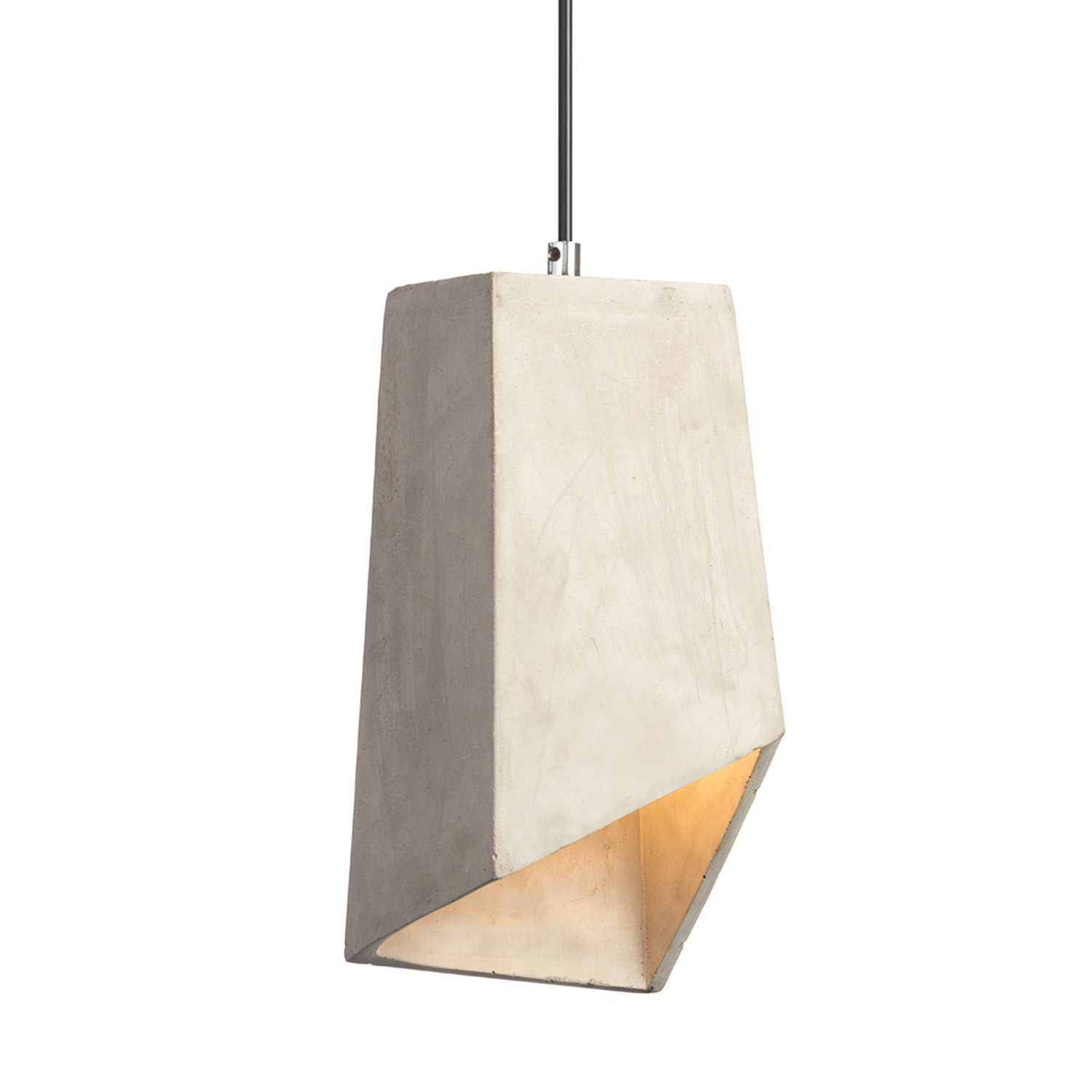 in pendants black concrete light pendant matteo