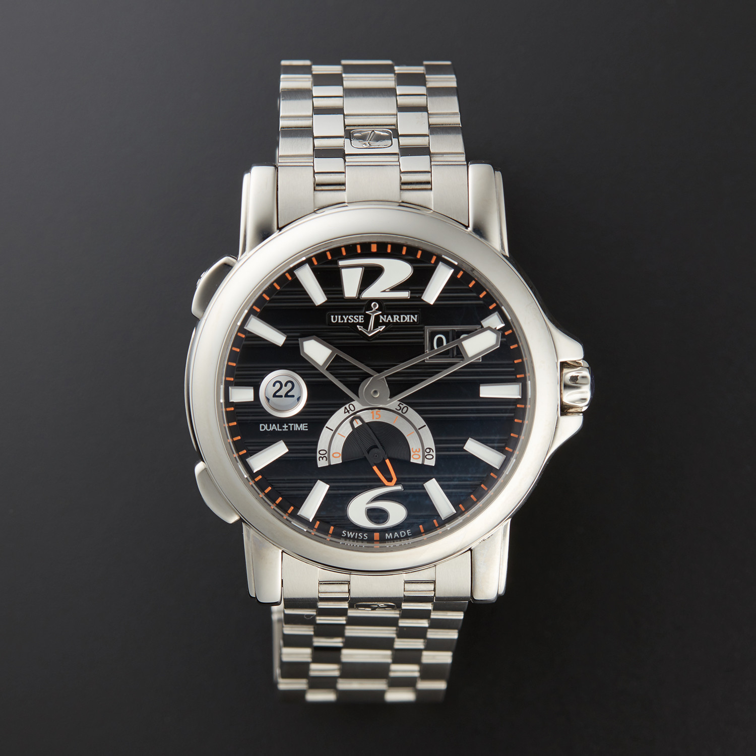 48e2d0be2cdc C274ffcd26c76f7bb42824ee97f5ca70 medium. Ulysse Nardin Maxi GMT Dual Time  ...