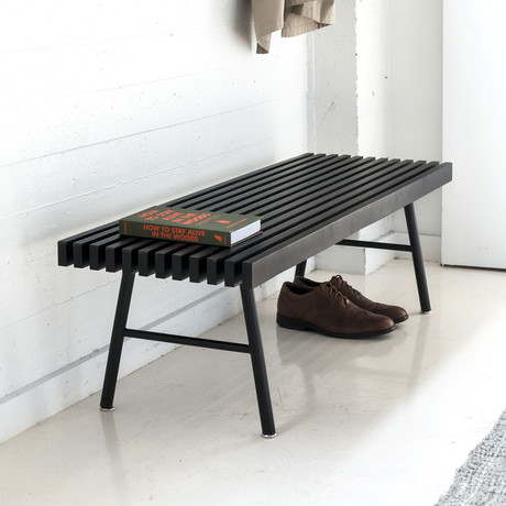 Transit Bench (Black Ash)