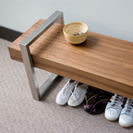 Return Bench (Oak Black)