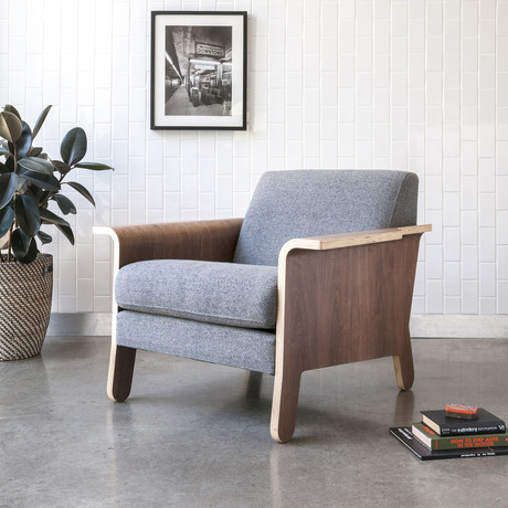 Lodge Chair (Chestnut Brown Leather)