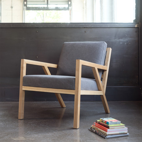 Truss Lounge Chair (Leaside Driftwood)