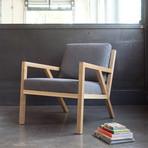 Truss Lounge Chair (Vintage Mineral & Ash Black)