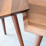 Metric End Table (Ash)