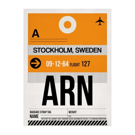 ARN Stockholm Luggage Tag