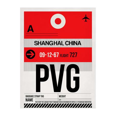PVG Shanghai Luggage Tag