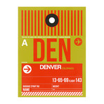 DEN Denver Luggage Tag