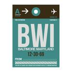 BWI Baltimore Luggage Tag