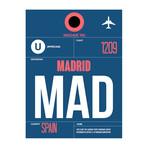 MAD Madrid Luggage Tag