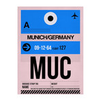 MUC Munich Luggage Tag
