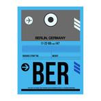 BER Berlin Luggage Tag