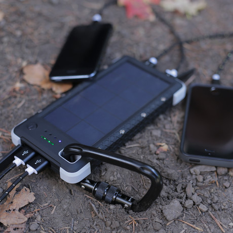 SOS 20K // Life Saving Portable Solar Battery